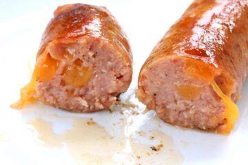 Pork Smoked Cherry & Cheese Griller