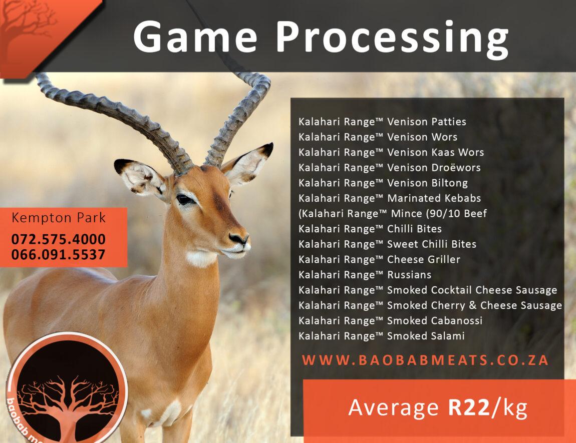 Game Processing